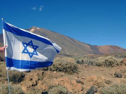 Israel, en el teide